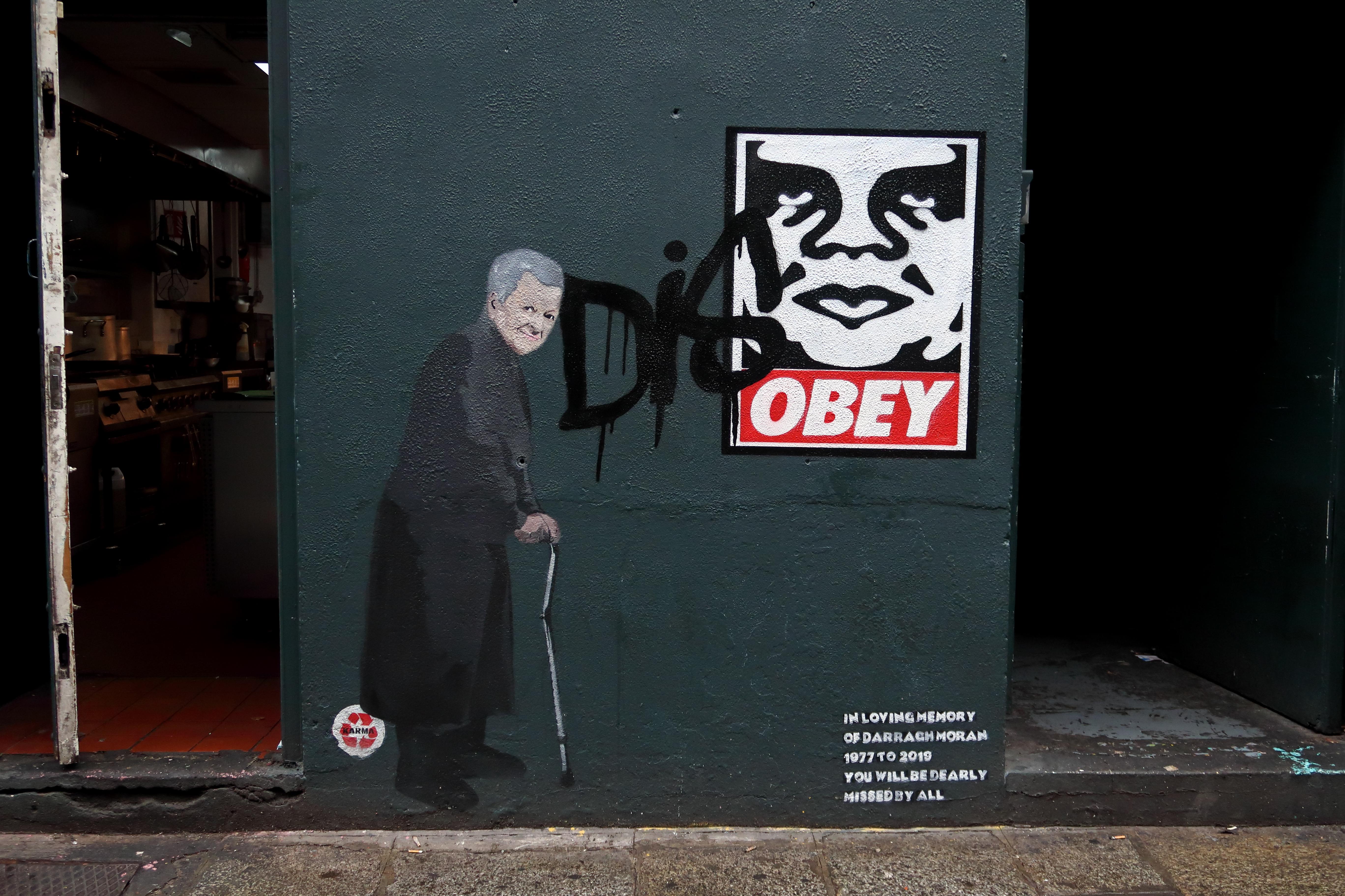 46 Dublin Street Art - DisObey