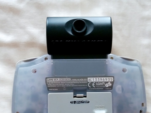 Competition Pro GBA Mini Camera