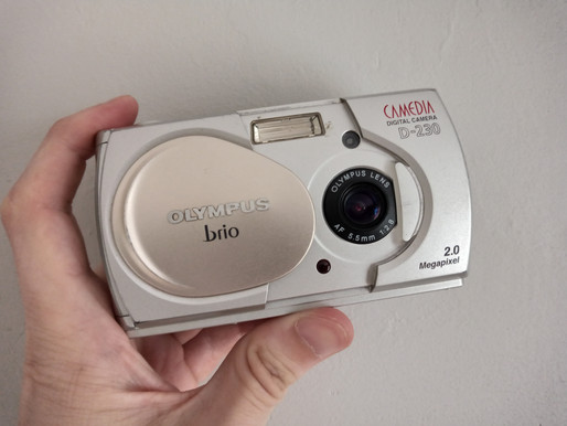 Olympus Brio D-230 - resurrecting an almost 20 year old Digital Camera