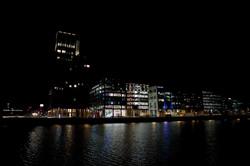 34 Capital Dock at night