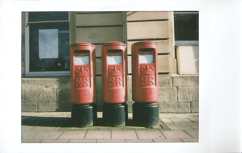 Instax Mini Royal Mail Postboxes
