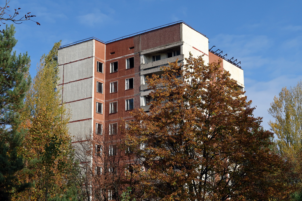 Exclusion Zone 19 - Pripyat Apartments
