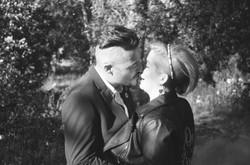 35mm wedding bride and groom