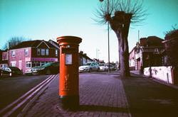 35mm Xpro Red Pillbox Post Box