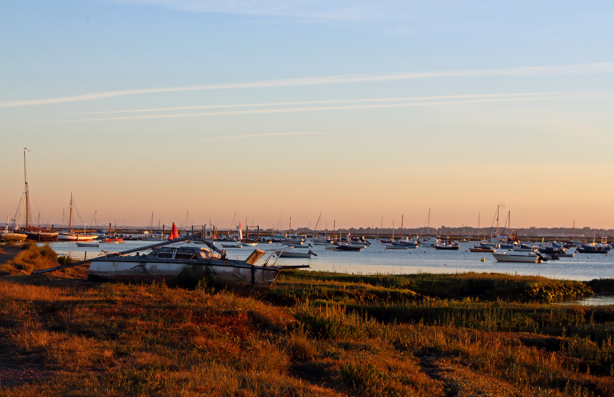 West Mersea Sunset Estuary
