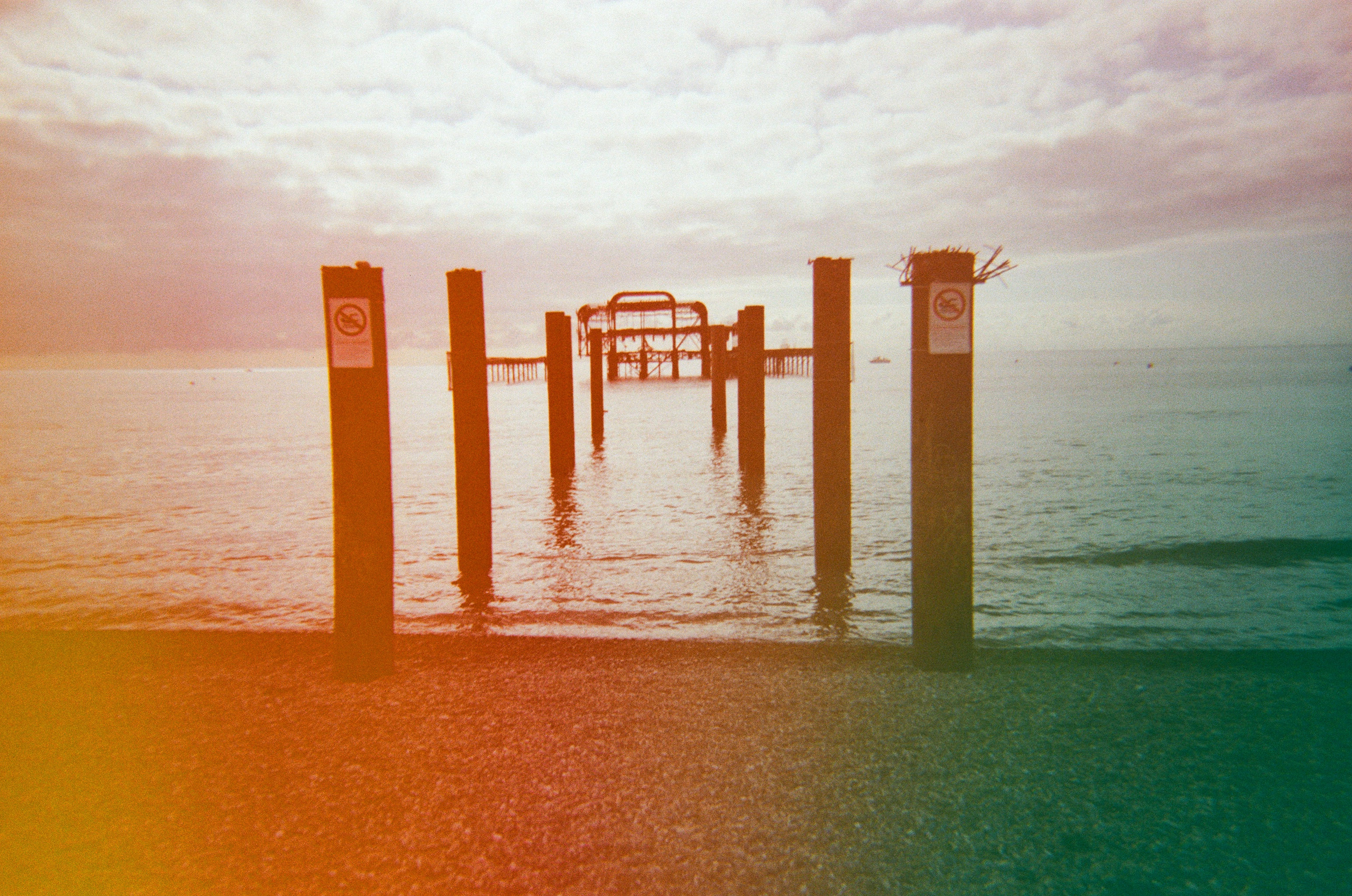 dubblefilm jelly brighton west pier multicolour