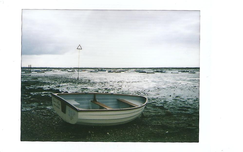 Instax Mini Rowing Boat Estuary