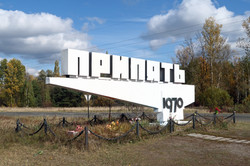 Exclusion Zone 89 - Pripyat Sign