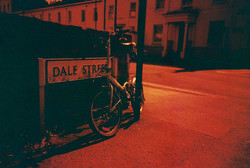 35mm Redscale Dale Street Bicycle