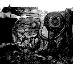 game boy camera - spacecat grafitti