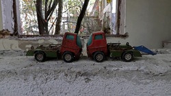 Exclusion Zone 43 - Toy Trucks