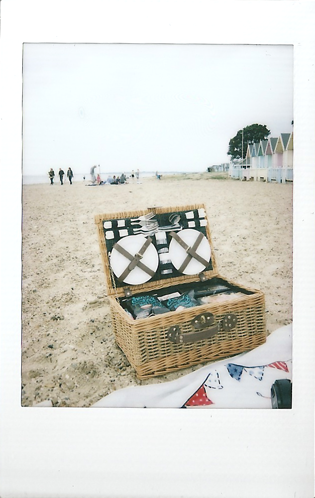 Instax Mini Picnic Basket Beach