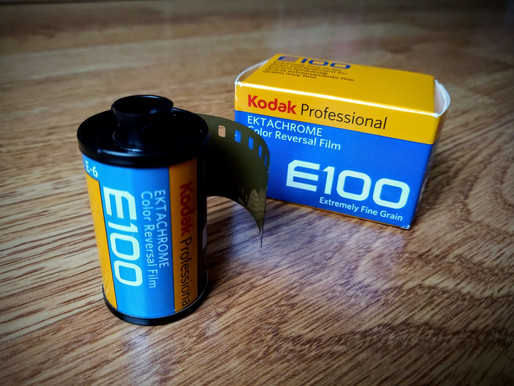 First Impressions of Kodak Ektachrome E100