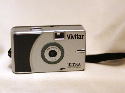 Compact Camera Club -  Vivitar Ultra Wide & Slim