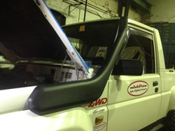 Fourtrak Snorkel fitted & Complete!