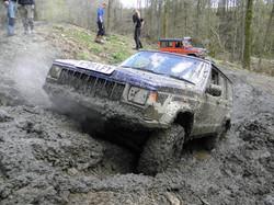overheated stuck jeep