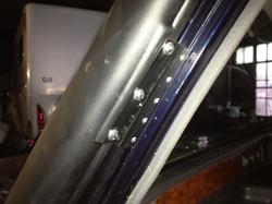 windscreen pillar bracket fitted (2)