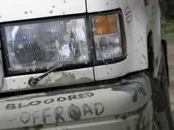BloodRedOffroad in Mud