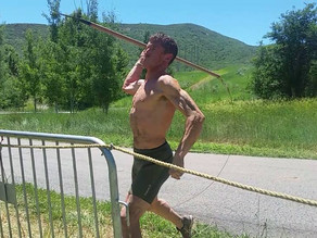"Spartan Spear throw technique with Matt ""The Bear"" Novakovich"