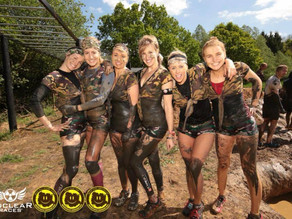 "The ""Always With A Smile"" Mud Is My Make Up Challenge at Nuclear Races for Blesma."