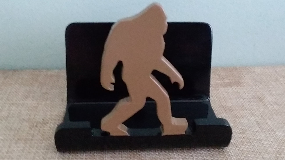 Sasquatch Big Foot Business Card Holder Steel Office Supply