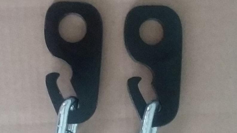 Target hanging hooks