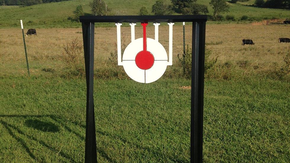 "3/8"" AR500 Odin's Eye Steel Reactive Target"