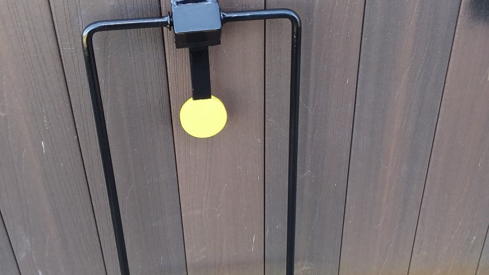 "3/8"" AR500 Mini Spinner Challenge Steel Reactive Target"