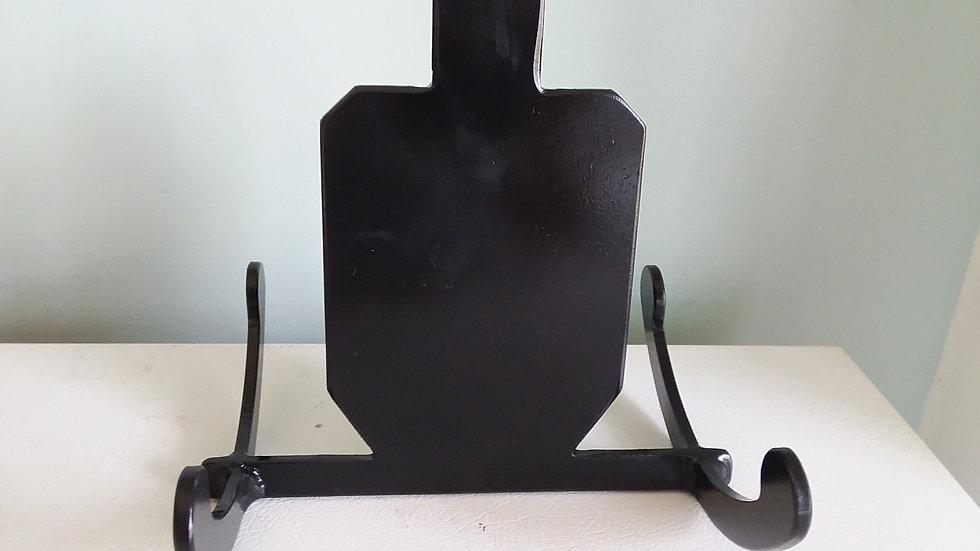 "1/4"" Steel Rocking Target IDPA Torso Silhouette"