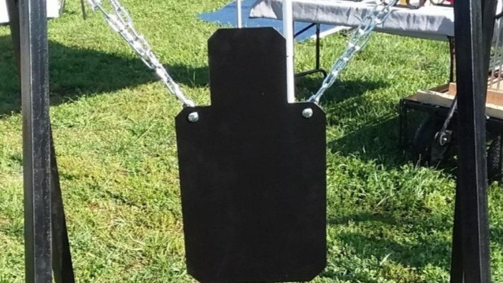 3/8 AR500 Life SizeTorso silhouette reactive steel target
