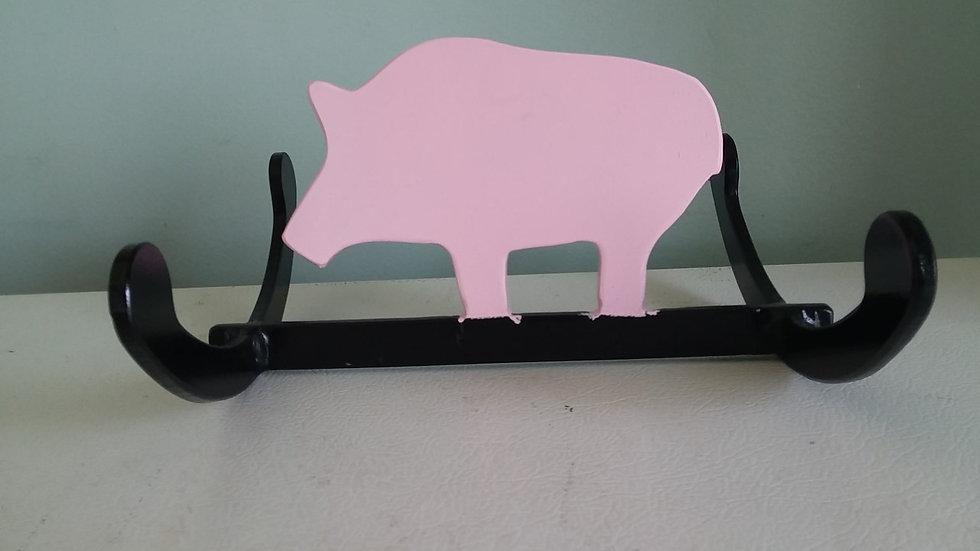 """1/4"""" Steel Rocking Pig Hog Target"""