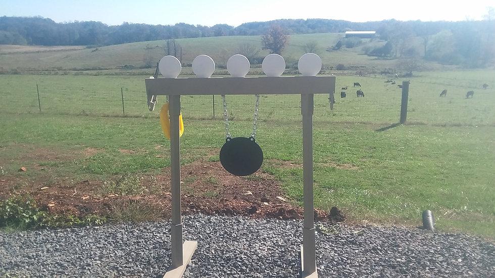 """3/8"""" AR500 Plate Rack Steel Reactive target"""