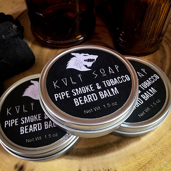 Pipe Smoke & Tobacco Beard Balm