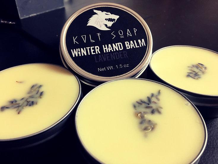 Lavender Winter Hand Balm