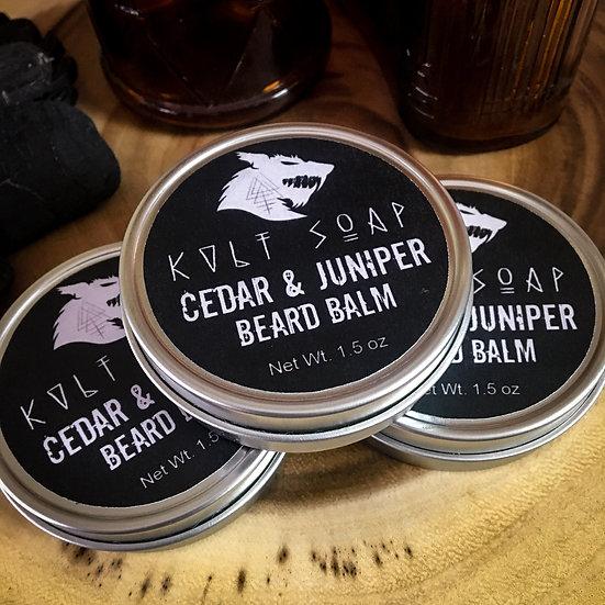 Cedar & Juniper Natural Beard Balm