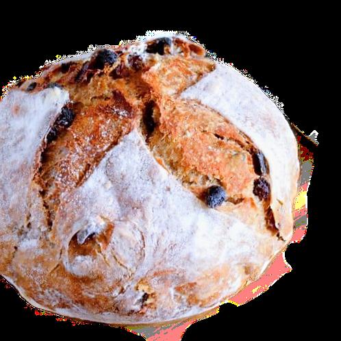 Dutch Fika's sourdough cinnamon/raisin bread