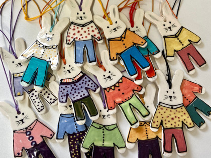 Bunny Decorations and Tags