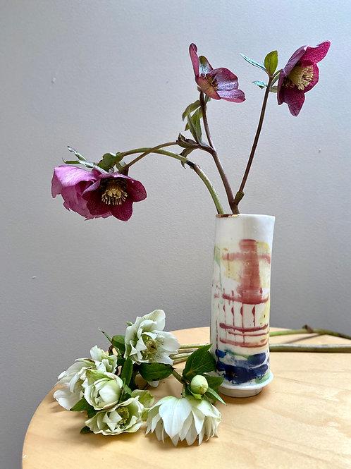 Tall Porcelain: Vase 3