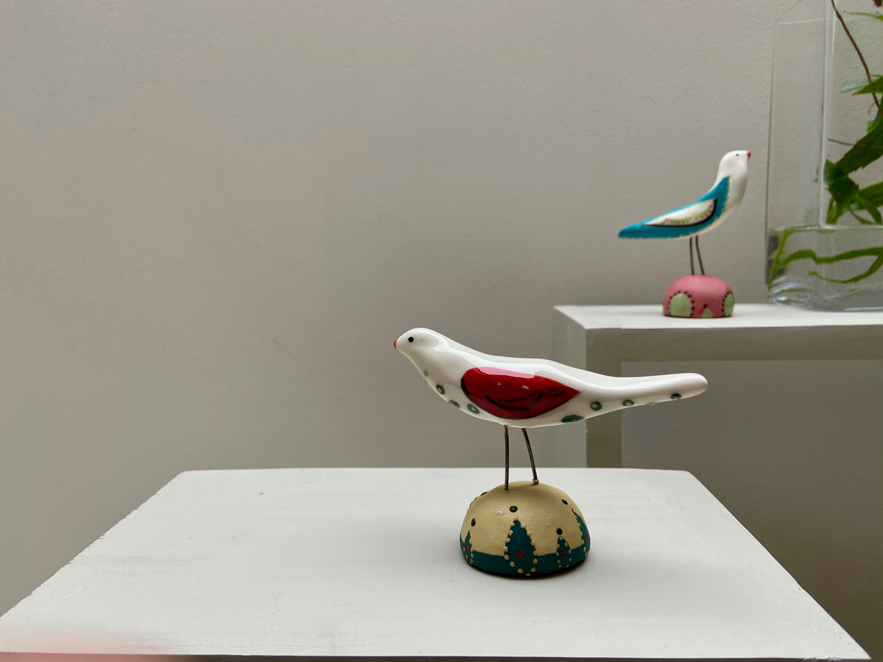 Quirky Ceramic Birds