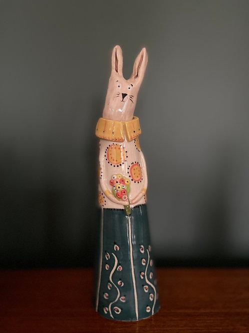 Ceramic Money Bunny