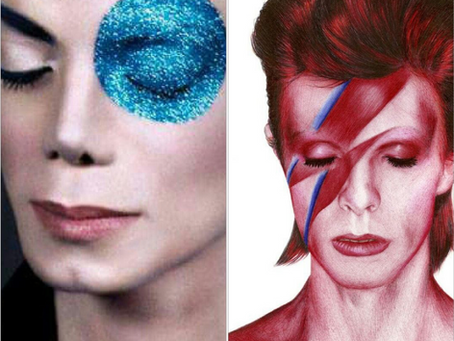 Du roi David (Bowie) au King Michael (Jackson)