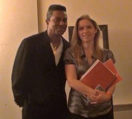 With Jermaine Jackson