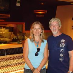 Isabelle Petitjean Matt Forger, Westlake Studio, L.A.