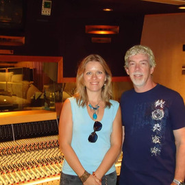With Matt Forger, Westlake Studio, L.A.