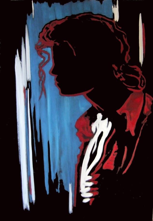 © Renée Paul, artiste peintre, huile sur toile galerie, 2012, 72 cm x 51 cm
