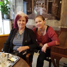 With Jennifer Batten