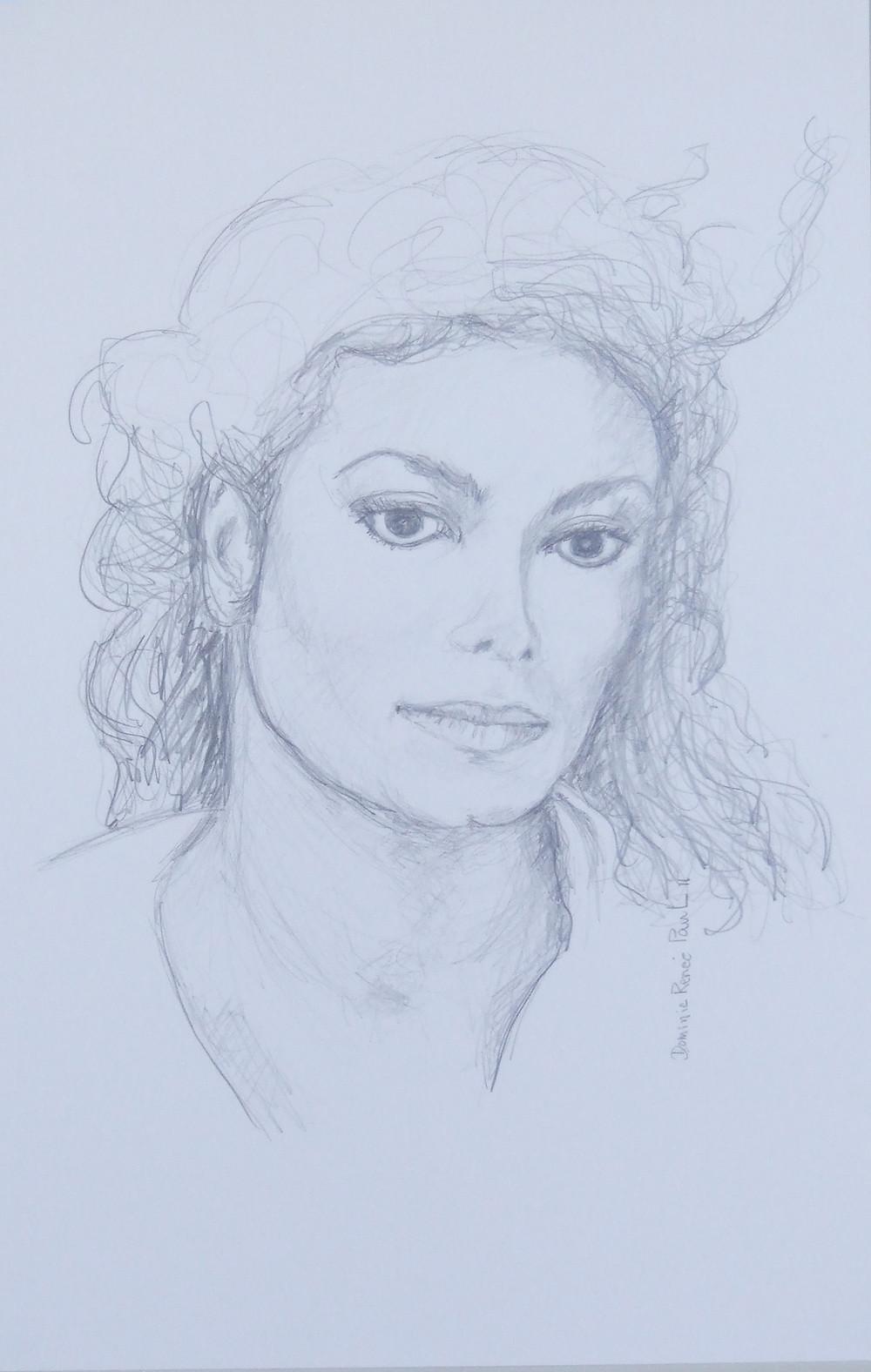 © Renée Paul, artiste peintre, dessin graphite sur papier Bristol, 42.2 cm x 27.9 cm, 2011, collection privée