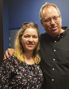 With Brad Sundberg