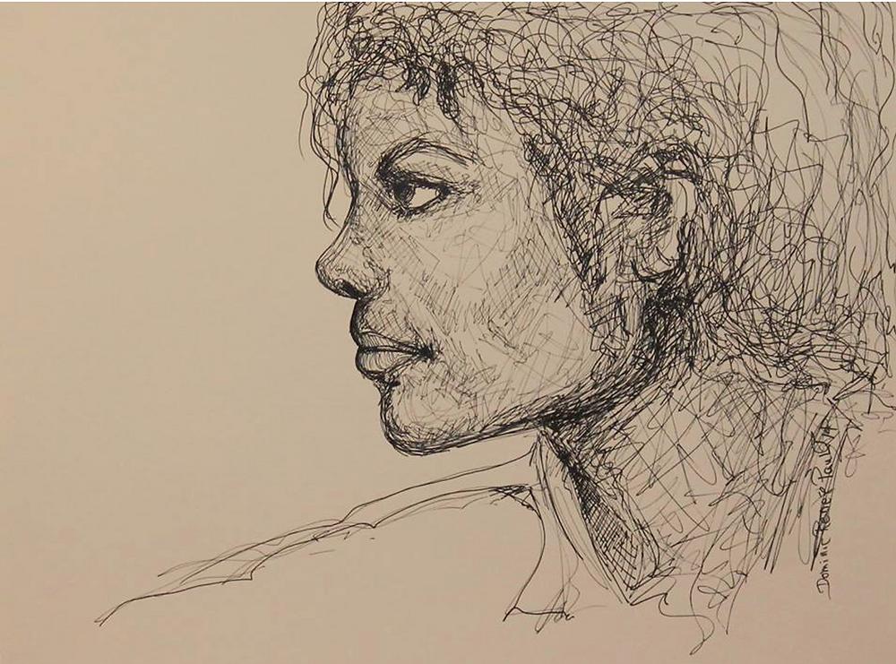 @ Renée Paul, artiste peintre, média feutre et crayons de couleurs sur Canson Academy 250g/m2  de 24 cm x 32 cm, 2014