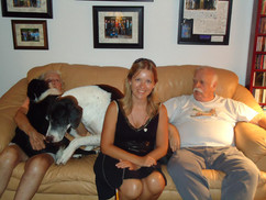 With Bruce Swedien, West Viking Studio